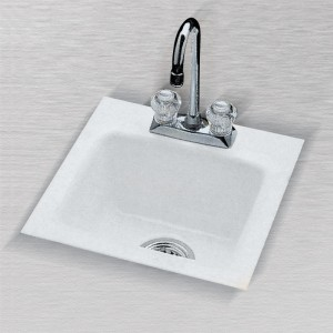 "Rancho Mirage 724-2 (2 Hole) Bar Sink 15"" x 15"""