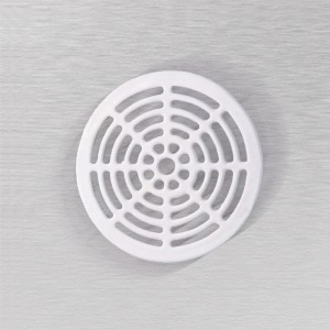 1000 Floor Sink Full Round Top Grate