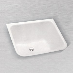 "Telluride 804 Rectangular Laundry Tray 24"" X 20"""