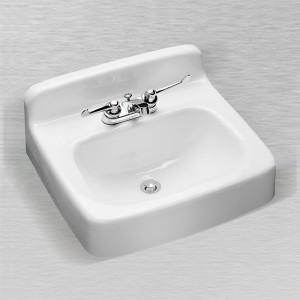 "540 Rectangular Service/Lavatory Sink 19"" x 17"""