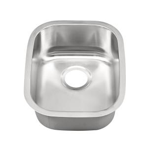 "428-UM Stainless Steel Undermount Single Bowl Bar / Vegetable Sink 18 1/2"" x 14 3/4"" x 7 1/2"""